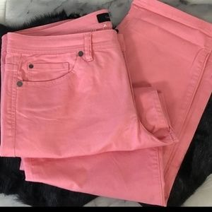 Calvin Klein Skinny Crop Ankle Jeans